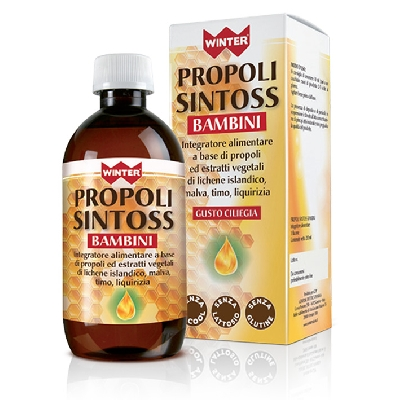 Dalla Parafarmacia Winter Propoli Sintoss Bambini 200 Ml