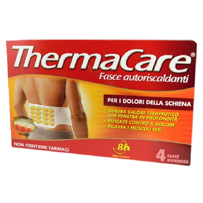Thermacare 4 Fasce Monouso Schiena